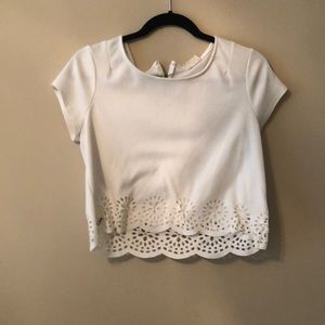 White Urban Outfitters Crop Top